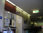 外科&乳腺外来の診察室前