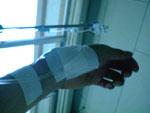 CEF4回目、最後の抗がん剤