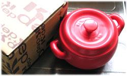 セラミック製の鍋