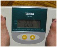 きょうの体脂肪率