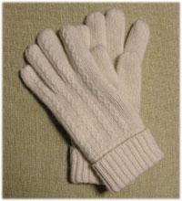 手袋を買う モヘア入りであったか~い