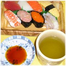 今夜は寿司