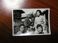 古い写真 父の母と兄弟達