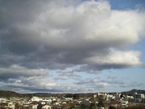 今日の空の写真
