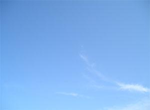 昨日の青空の写真