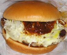 とびきりチーズハンバーグサンド