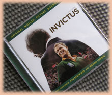 「インビクタス/負けざる者たち」のサントラCD
