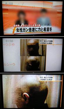テレビから