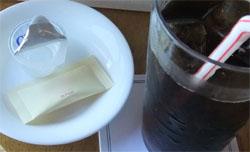 ガムシロと砂糖