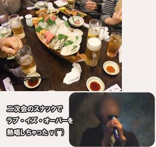 同級生と飲み会