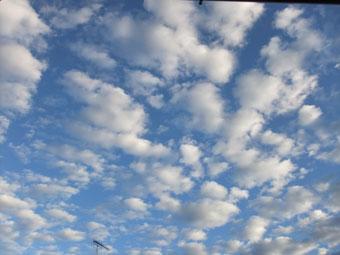 今朝の青空