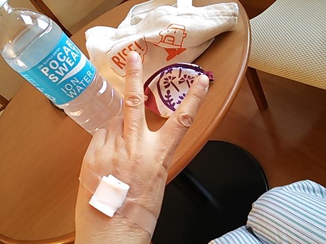 入院7日目1歩ずつ前進(^^)v