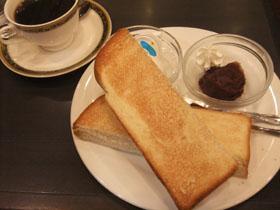 名古屋名物小倉トーストセット