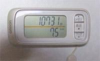 10731歩