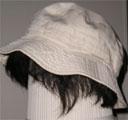 コットンの帽子