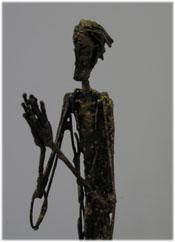彫刻家・村上勝美の作品「Life 修行者」
